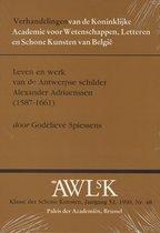 Leven en werk van de antwerpse schilder alex adriaenssen (1587-1661)