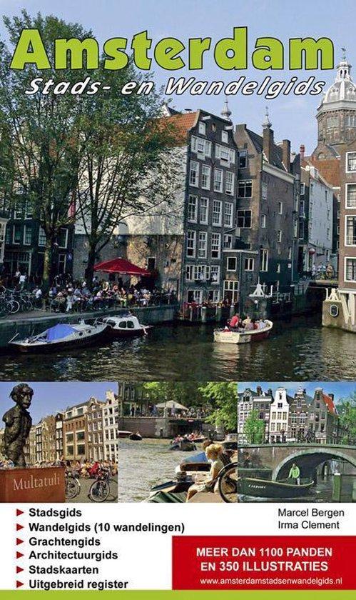 Amsterdam stads- en wandelgids - Marcel Bergen |