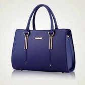 N3 Collecties N3crossbody Maat null Dames Crossbodytas Blauw