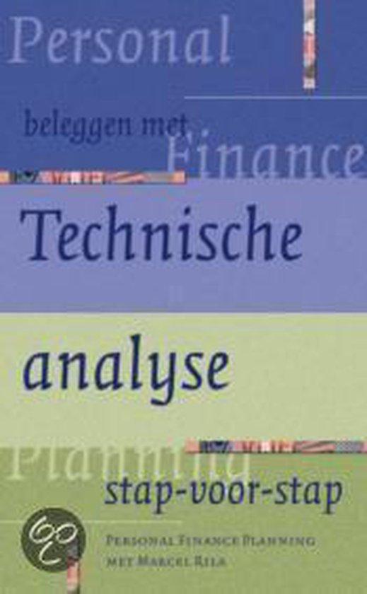 Cover van het boek 'Beleggen met technische analyse stap voor stap'
