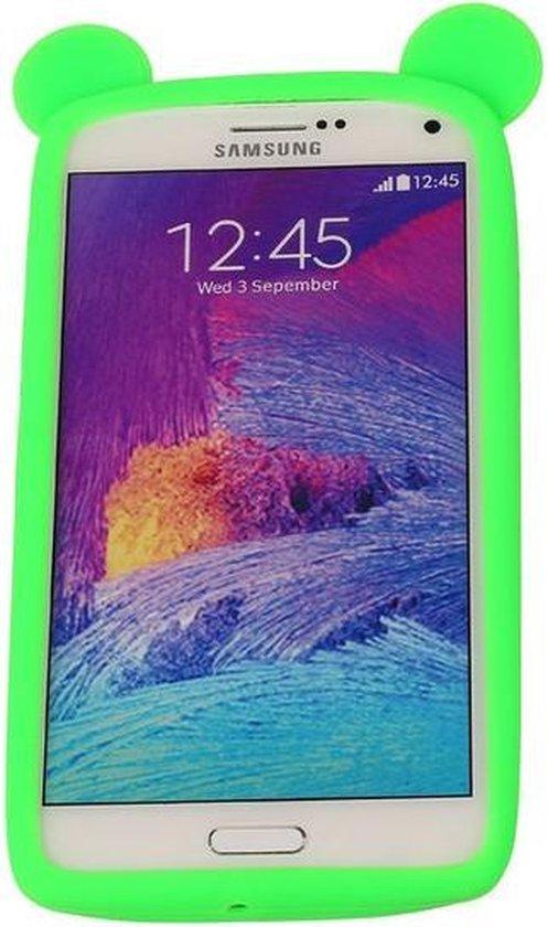 Groen Bumper Beer Medium Frame Case Hoesje voor Samsung Galaxy A5 2017