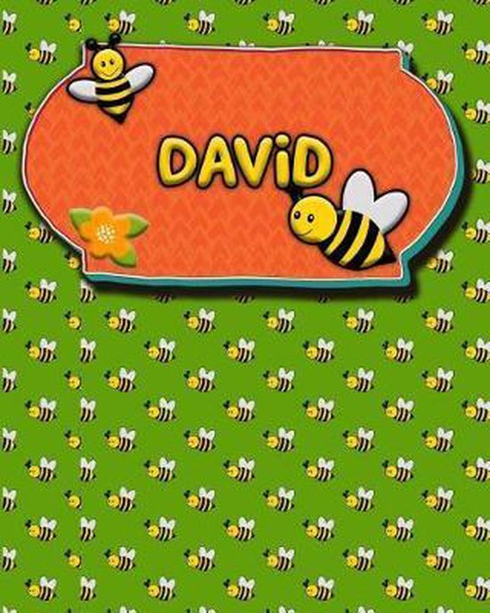 Handwriting Practice 120 Page Honey Bee Book David