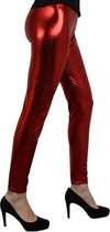Metallic rode legging S/M