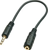 Lindy Audioadapterkabel 3.5mm/2.5mm M/F 20cm