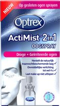 Optrex Oogspray ActiMist 2-in-1 Droge en Geïrriteerde Ogen – 10 ml