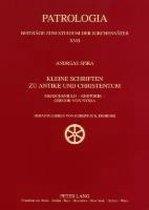 Kleine Schriften Zu Antike Und Christentum
