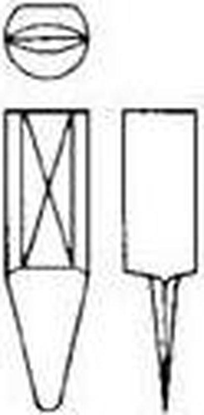 Reserve mes voor cirkelsnijder, type 00/00A5 HSS-E GFS