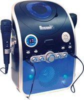 Karaoke Machine CDG met Bluetooth en disco LED verlichting