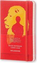 Moleskine notitieboek Game of Thrones - Pocket - Hard cover - Gelinieerd