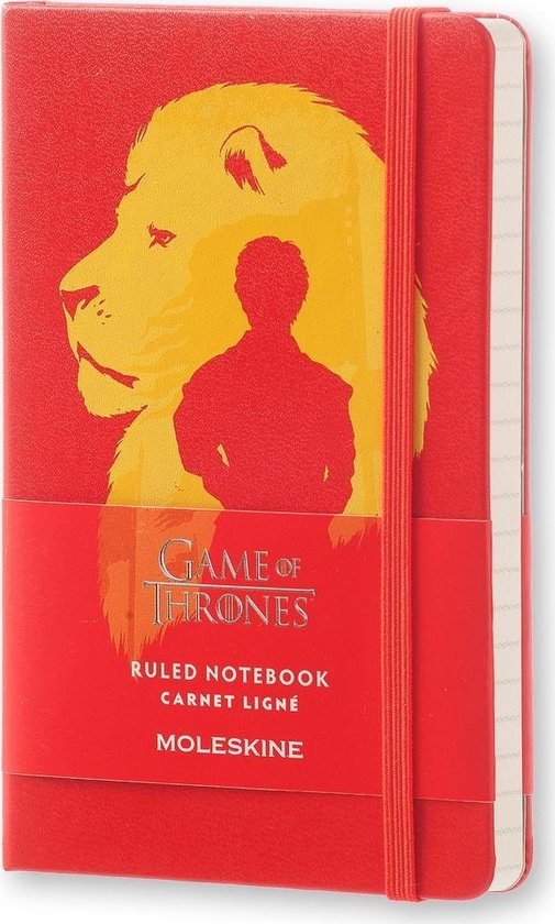 Moleskine notitieboek Game of Thrones - Pocket - Hard cover - Gelinieerd