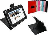 Prestigio Multipad 4 Quantum 10.1 Case, Stevige Tablet Hoes, Betaalbare Cover, Zwart, merk i12Cover
