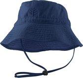 Coolibar UV zonnehoed Kinderen - Donkerblauw - Maat S