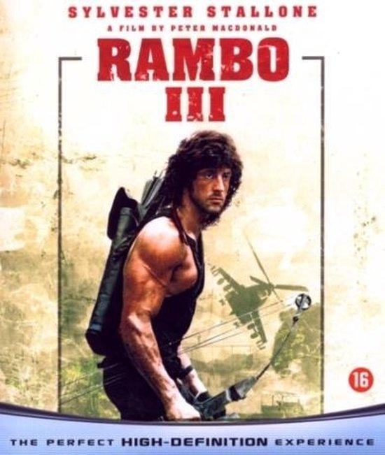 Cover van de film 'Rambo III'