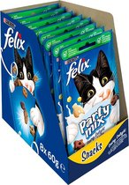 FELIX Party Mix Snacks Kattensnack - Dairy Delight - 8 x 60 g
