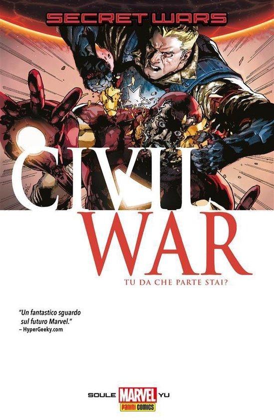 Boek cover Secret Wars: Civil War (Marvel Collection) van Leinil Francis Yu (Onbekend)
