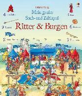 Mein großer Such- und Zählspaß: Ritter und Burgen