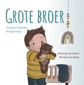 Boek cover Grote broer van Willemijn de Weerd (Hardcover)