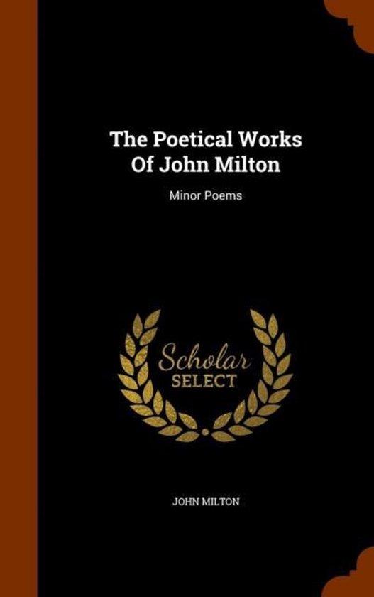 Boek cover The Poetical Works of John Milton van Professor John Milton (Hardcover)