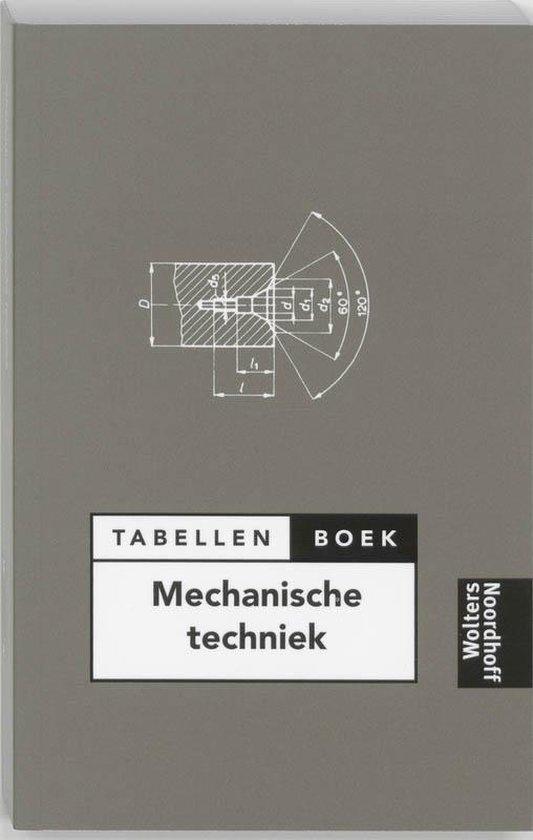 Tabellenboek mechanische techniek - A.C. Bruinshoofd |