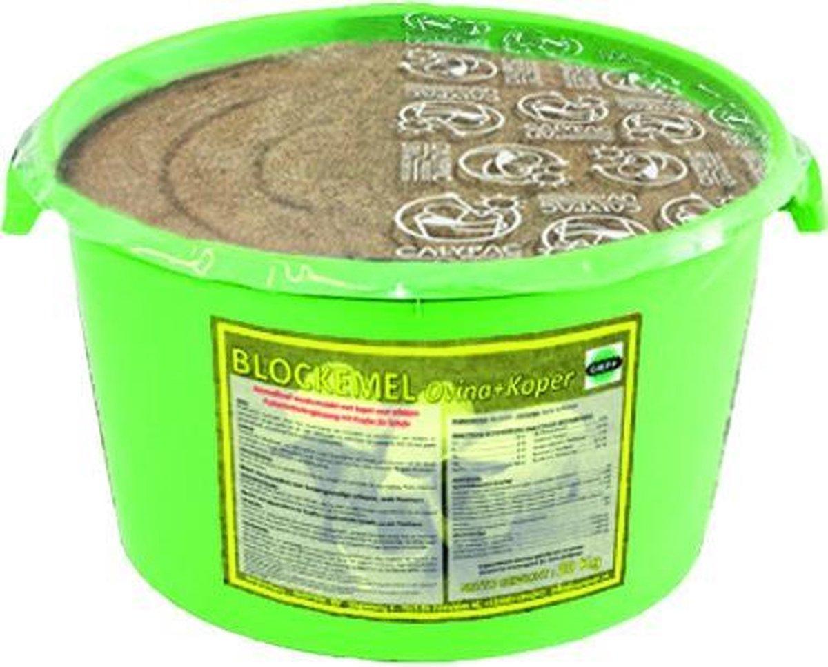 Blockemel Ovina + Koper Mineralenemmer voor schapen 20kg - Blockemel Rumivar