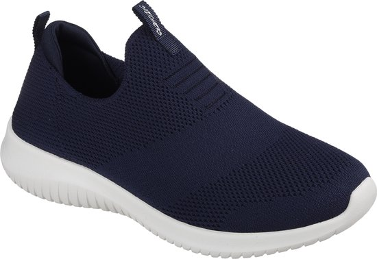 Skechers Ultra Flex First Take Dames Instappers - Navy - Maat 39