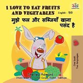 I Love to Eat Fruits and Vegetables (English Hindi Bilingual Book)