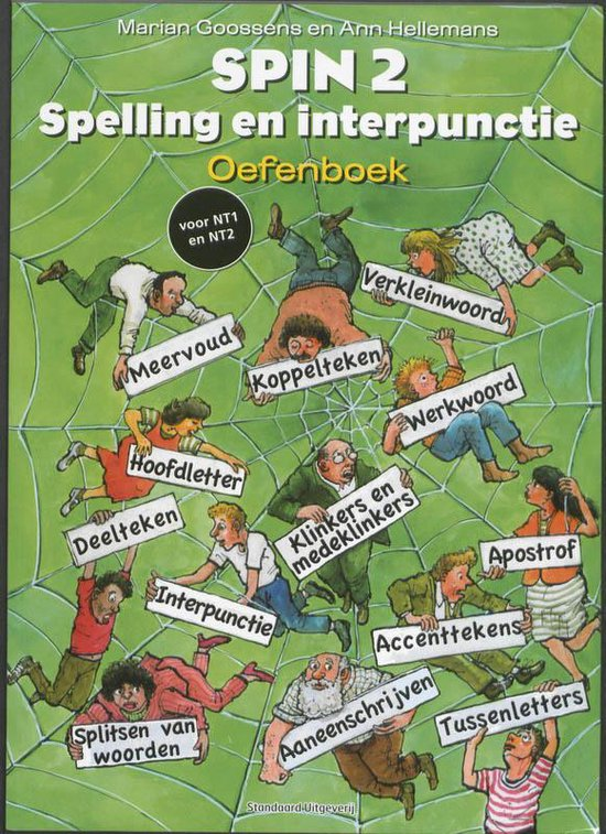 Afbeelding van SPIN 2 Spelling en interpunctie Oefenboek