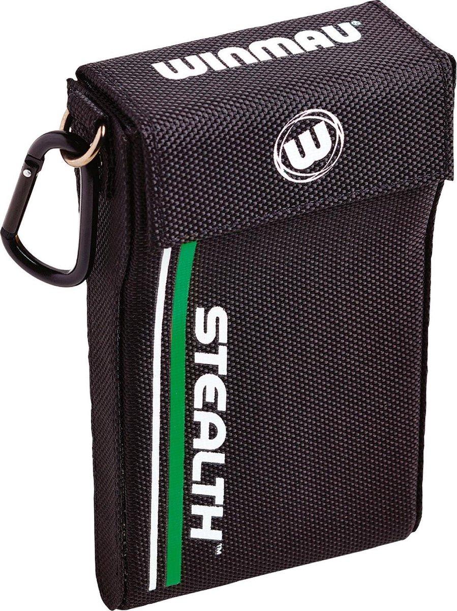 Winmau Stealth dartcase groen - 18 x 16 x 3cm