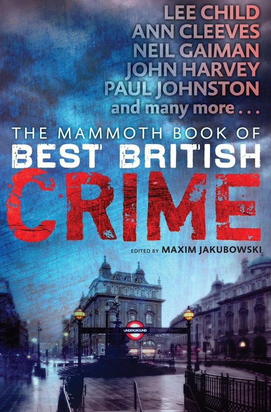 Omslag van The Mammoth Book of Best British Crime 10