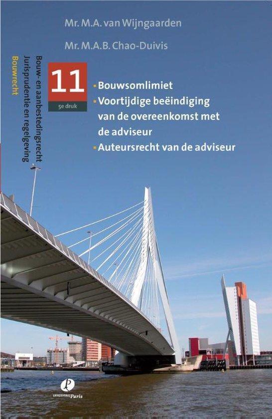 Cover van het boek 'Jurisprudentie en regelgeving / 11' van A. van Wijngaarden