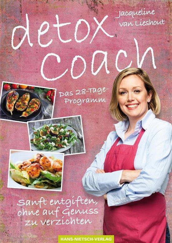 Boek cover Detox Coach van Jacqueline van Lieshout (Onbekend)