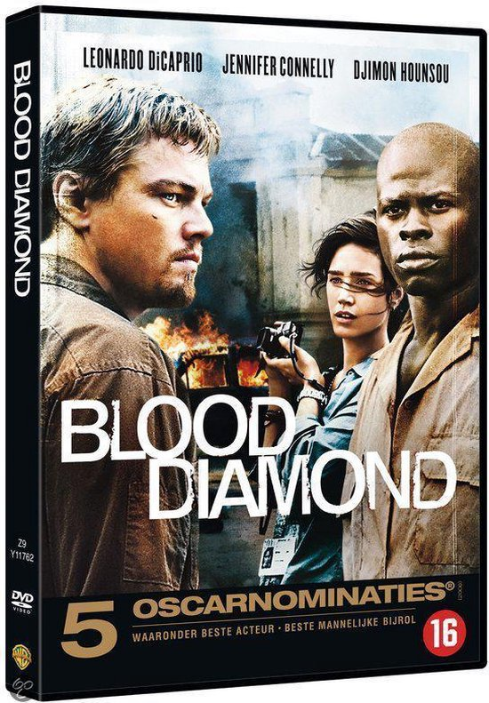 Cover van de film 'Blood Diamond'
