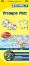 Michelin Localkarte Bretagne West 1 : 150 000