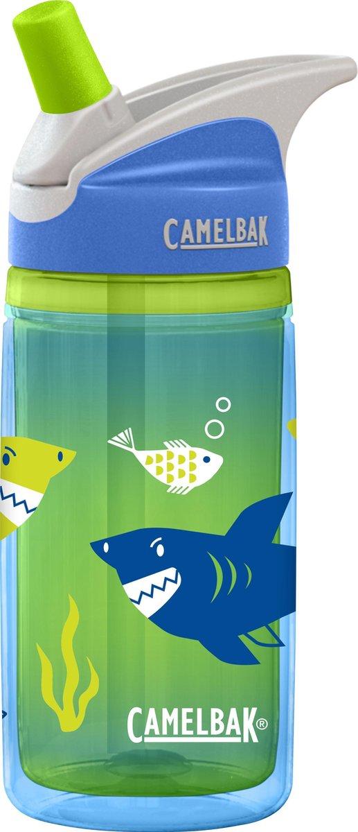 Camelbak Eddy Kids - Drinkfles - 400 ML - Blue Sharks -