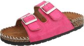 Dames slippers  - sandalen fushia maat 36