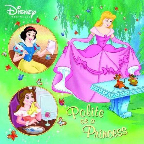 Boek cover Polite as a Princess (Disney Princess) van Melissa Lagonegro (Paperback)