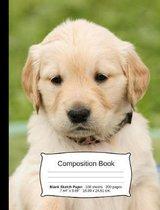 Golden Retriever Composition Notebook