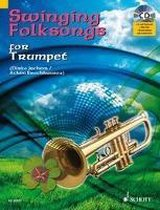 Swinging Folksongs Play-Along for Trumpet with Piano Parts to Print