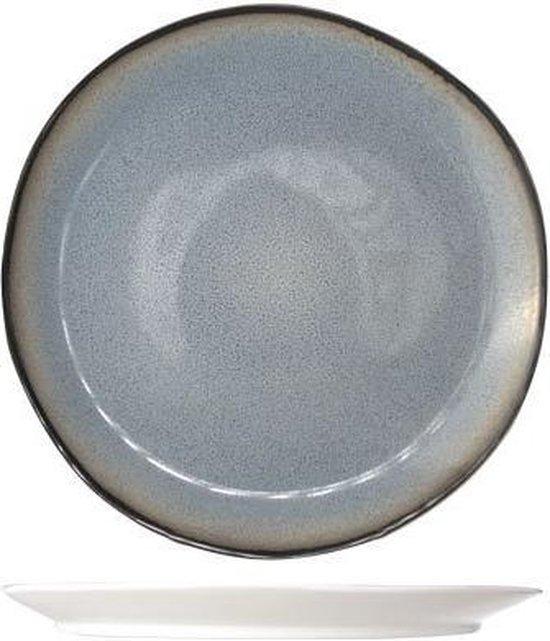 Cosy&Trendy Fez Ontbijtbord - Ø22,5 cm - Blue - 6 stuks