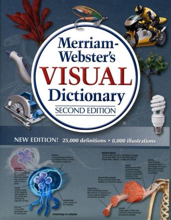 Boek cover Merriam-Webster Visual Dictionary van Merriam-Webster Inc. (Paperback)