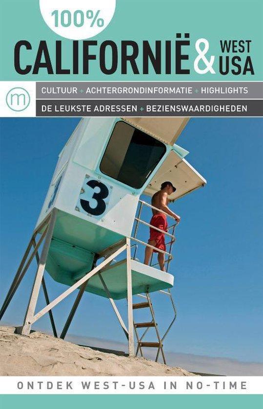 Cover van het boek '100%  / Californië & West-USA' van Preben Hansen
