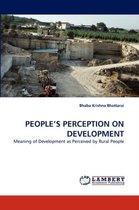 People's Perception on Development