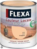 Flexa Couleur Locale Hoogglans Watergedragen Toscane 0.75 Ltr 4035 Terra