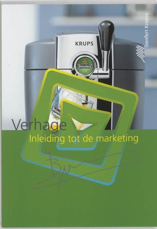 Boek cover Inleiding tot de marketing van Bronis Verhage (Paperback)