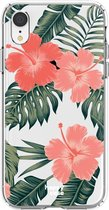 HappyCase Apple iPhone XR Flexibel TPU Hoesje Tropic Vibe Print
