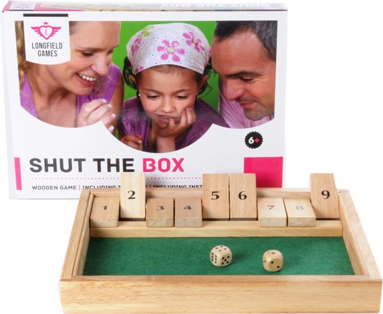 Longfield Games Shut The Box Klein