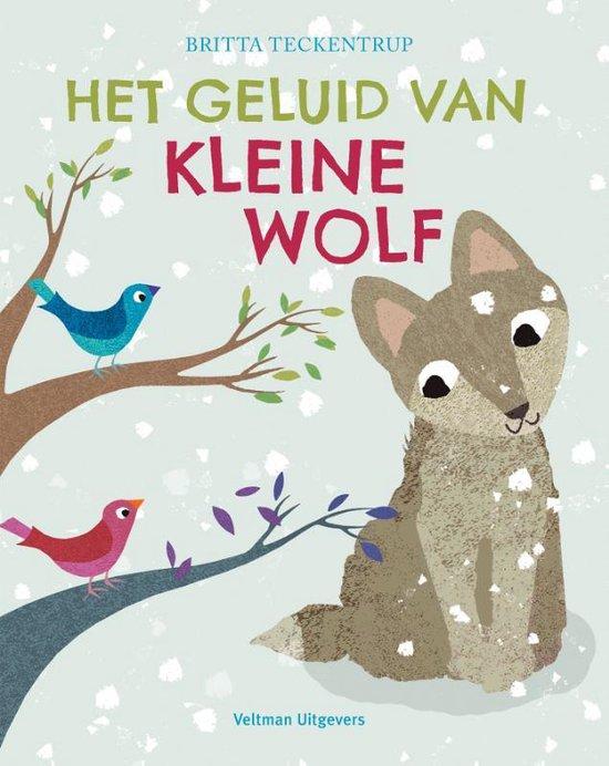 Het geluid van Kleine Wolf - Britta Teckentrup |