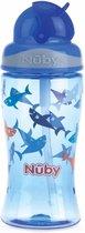 Nûby - Flip-It drinkbeker uit Tritan™- Blauw - 360ml - 3jaar+