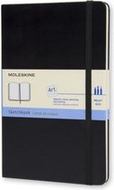 Moleskine Art Schetsboek Large - Hard cover - Blanco - Zwart