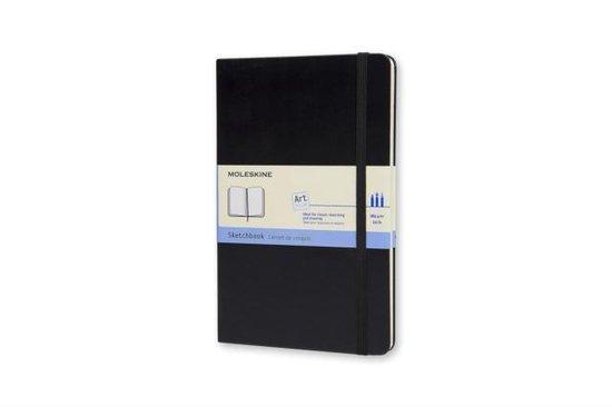 Moleskine Art Schetsboek Large - Hard cover - Blanco - Zwart